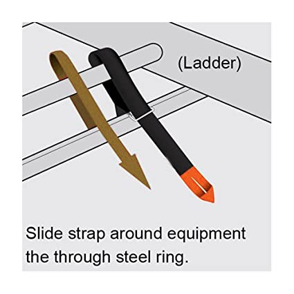 AA Products 4 Pack Touch Fastener Straps Double Side Tape Extention Universal Straps with Loop 2 Inch x 36 Inch