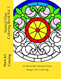 Stained Glass Coloring Book Vol. 1