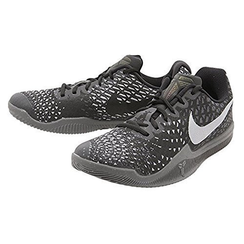 Nike Mens Kobe Mamba Instinct Basketball Shoes (13, Grey/Black-M)