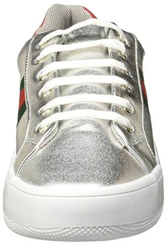 7604 758 Mujer Zapatillas Plata Footwear para Tenis de LOB qP5zUxEwn