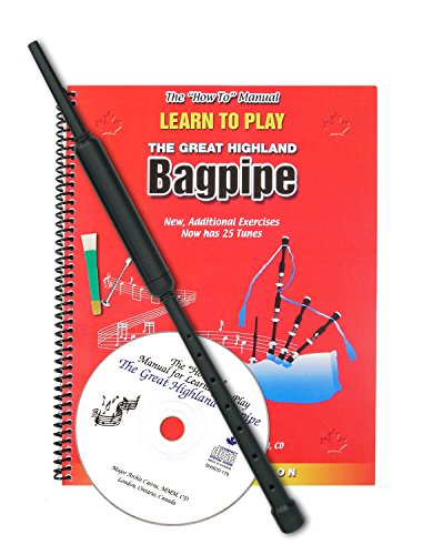 Learn to Play Bagpipes Kit by Major Archie - Cairns Shops In