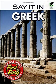 Book Say it in Greek (Dover Language Guides Say It Series)
