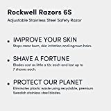 Rockwell Razors 6S Stainless Steel Adjustable