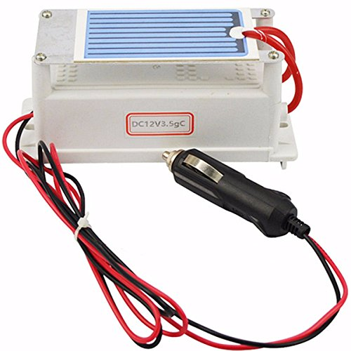 Price comparison product image DC12V 3.5G Ozone Generator Ceramic Plate Air Car Cleaner Ozonizer Air Purifier