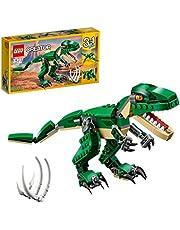 LEGO 31058 Creator Mäktiga dinosaurier, Dinosaurier Leksaker, T Rex, Pterodactyl, Triceratops, Byggklossar