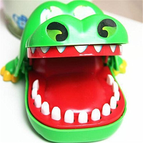Funny Crocodile Dentist Game Big Mouth Bite Fingers Prank Toys For Kids
