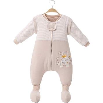 DYMAS Retroceso contra de Infantil Saco por Saco de Dormir de bebé en otoño e Invierno