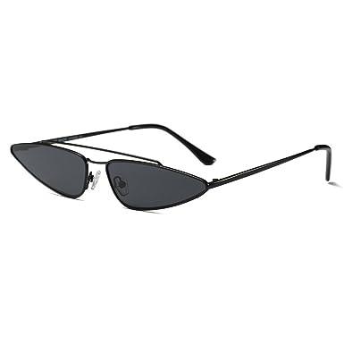 d86b71b925ed MINCL 2018 Hot Sale Fashion Small Sexy Cateye Sunglasses Womens Black Brand  Designer EyeweaeUV400 (black)  Amazon.co.uk  Clothing