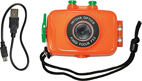 (Intova Duo Waterproof HD POV Sports Video Camera, Orange )