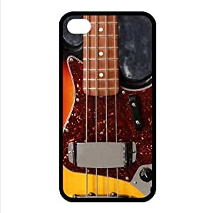 Instruments Guitar Fender Jazz Bass TPU Covers Cases Accessories for Apple iphone 4/4s