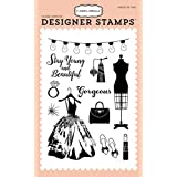 Carta Bella Paper Company CBMG60043 Gorgeous Girl Stamp