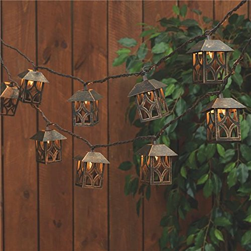Brass Patio Lights - 7