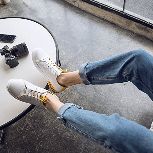 Estate Maschile Scarpe Scarpe Versione Bianca Scarpe Scarpe Selvaggio Marea LIUXUEPING Coreana da Studente Uomo da Nuovo Scarpe Traspiranti di Casual Tela Maschio ZYxT1CWvwq