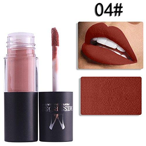 Cheap Yiding Nonstick Lip Gloss Womens Cylindrical Matt Cup Lipstick Lip Pencils Makeup free shipping