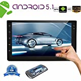 EinCar Android 5.1.1 Lollipop 2 Din Car Stereo con Quad Core 7 '' Pantalla táctil capacitiva Navegación GPS AM Radio FM Receptor de audio Soporte Mirrorlink / WiFi / Bluetooth / 1080P video