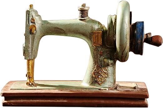 Healifty - Objetos de decoración Vintage, máquina de Coser, Adorno ...