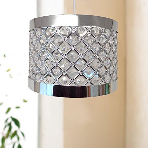 COUNTRY CLUB Sparkly Ceiling Pendant Light Shade Fitting
