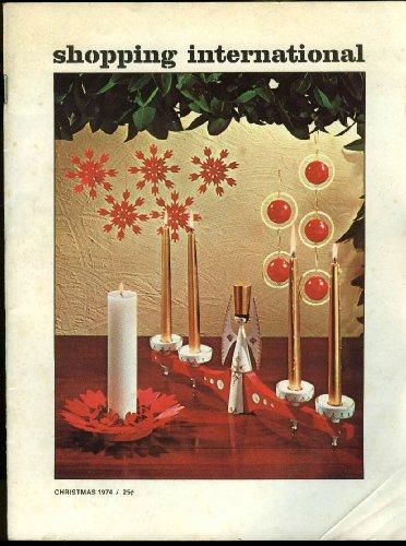 Shopping International novelty jewelry handbag clothing Christmas catalog 1974