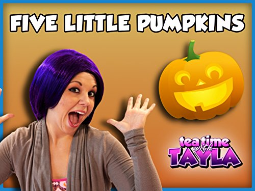 Five Little Pumpkins | Halloween Rhyme for Kids -