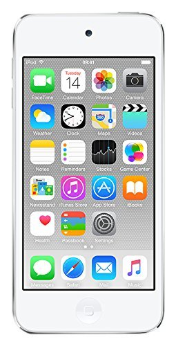 (Apple iPod touch 128GB Silver (6th Generation) (Renewed))