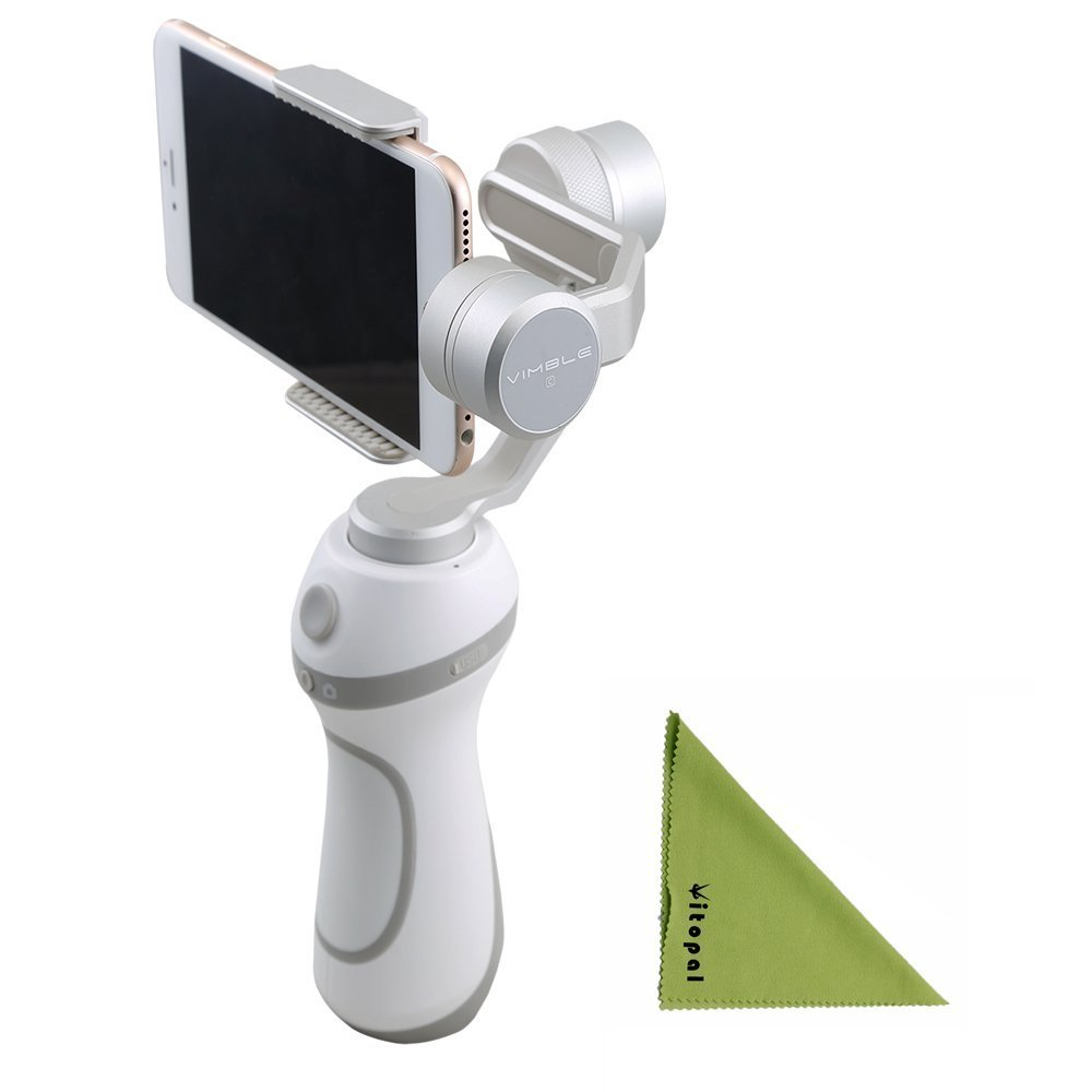 Feiyutech Vimble C Smartphone Gimbal Support Shooting Panorama Mode For Iphone Or Smartphone,Gopro Hero 5/4/3 Or Other Same Width Action Camera
