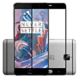 AA OnePlus3/3T Tempered Glass Screen Protector 3D Curved Edges Upgraded Premium Full Cover Edge-to-Edge For OnePlus 3 & OnePlus 3T One plus 3/3T