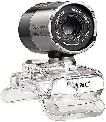 KKmoon Aoni cámara web USB HD Webcam VGA 640 x 480 8 Méga con micrófono para Smart TV PC PC Ordenador Portátil Desktop: Amazon.es: Electrónica