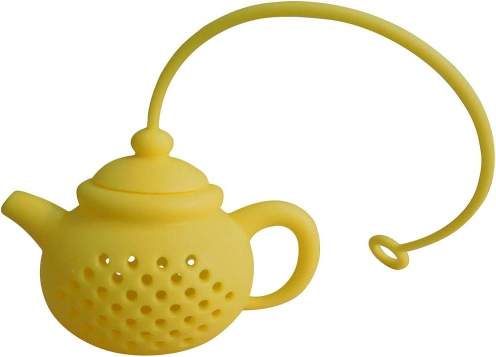 Details about  /Filtro de fugas de té de acero inoxidable tetera de colador Infusor de té