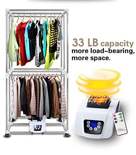 Amazon.com: Secador de ropa portátil 1200W ...