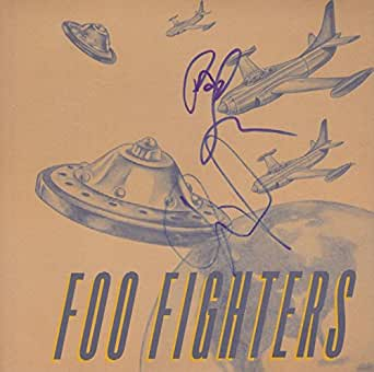 "DAVE FROHL & PAT SMEAR Signed Foo Fighters ""This Is A Call"" 7"" Album PSA/DNA"