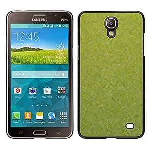 Caucho caso de Shell duro de la cubierta de accesorios de protección BY RAYDREAMMM - Samsung Galaxy Mega 2 - Textura verde