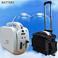 HouseHold Server Portable Oxygen Concentrator Generator with Battery Car Use Air Purifier with Trolley O2 Making Machine