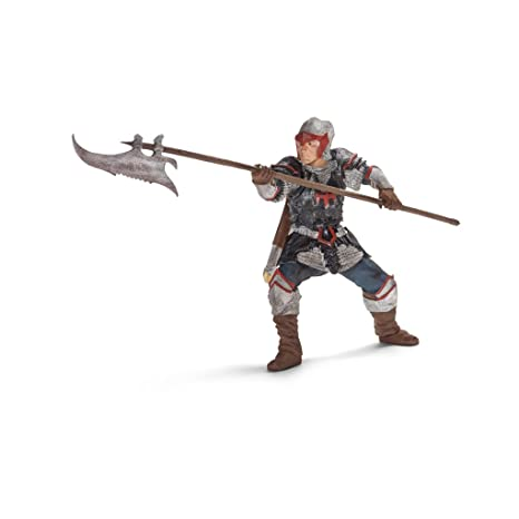 Schleich Dragon Knight Action Figure with Pole-Arm