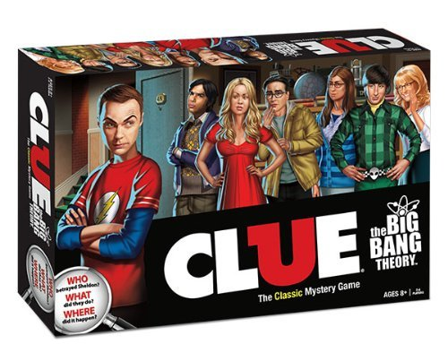 Clue: The Big Bang Theory by USAopoly