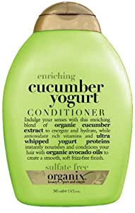 Organix Enriching Conditioner, Cucumber Yogurt , 13 Ounce