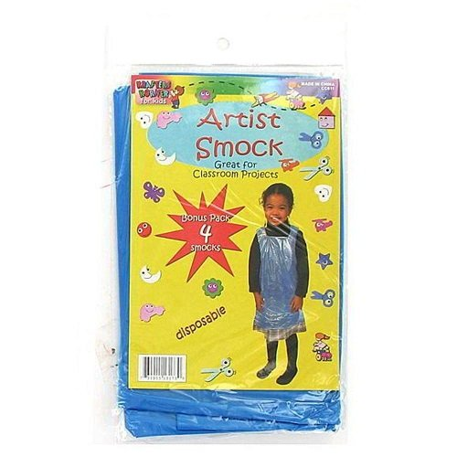 Disposable children&-039;s artist smock - Pack of 96