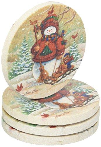Thirstystone TSQS2 Thirstystone Set of 4 - Christmas Coasters Shopping Results