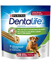 DentaLife Daily Oral Care, Dental Dog Treats for Large Breed Dogs - 28 ct Pouch