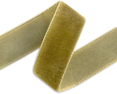 "3 yards of 5//8/"" Wide Black Velvet Ribbon Made in Switzerland Millinery ST 102914"