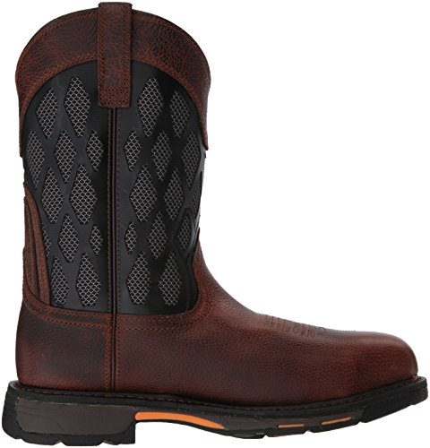Toe Workhog Venttek Composite Brown Charcoal Construction Matrx Mens Ruddy Ariat Boot UwIT5qntfx