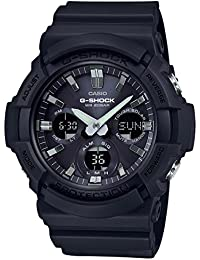 GAS100B-1A G-Shock Tough Solar Men's Watch Black 55.1mm...