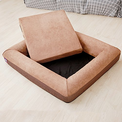LaiFug-Orthopedic-Memory-Foam-Sofa-PetDog-Bed-with-Durable-Water-Proof-Liner-and-Removable-Washable-Cover
