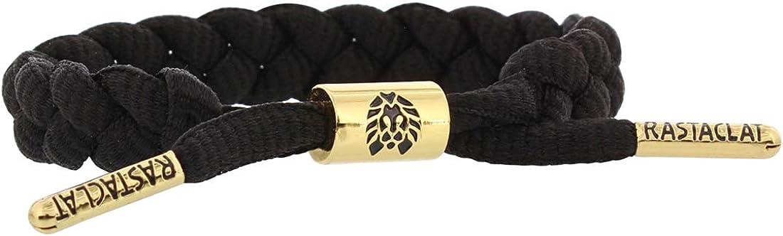 Rastaclat Onyx II Black Shoelace Bracelet