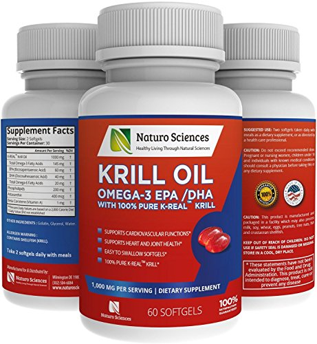 Antarctic krill oil omega 3 supplement by naturo sciences for Is krill oil the same as fish oil
