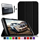 "Bestdeal® High Quality Ultra Slim Lightweight Smart Cover Stand Case for NVIDIA SHIELD Tablet K1 / NVIDIA SHIELD 8"" inch Tablet PC + Screen Protector and Stylus Pen"