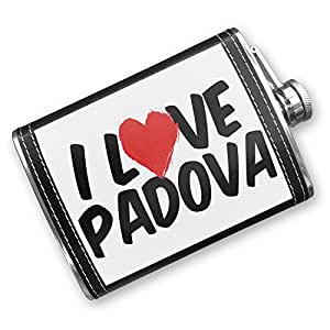home decor store padova 8oz flask stitched i stainless 11128