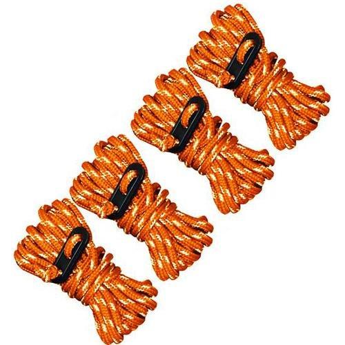 UST Reflective Guy Line (4 Pack), Orange