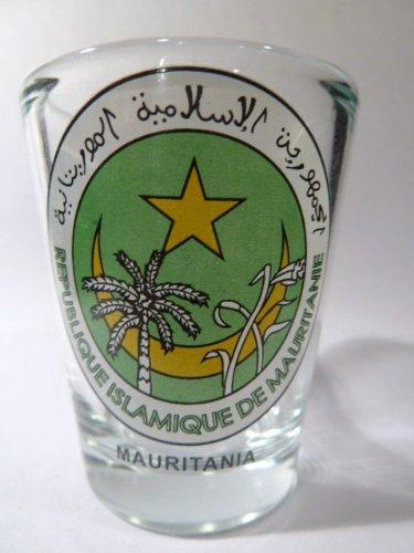 Mauritania Coat Of Arms Shot Glass