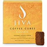 Jiva Coffee Cubes - Freeze-Dried Colombian Coffee Sweetened with Raw Sugar – Individually Wrapped Coffee Single Packets for Camping, Travel, Office, Events - (24 Servings)