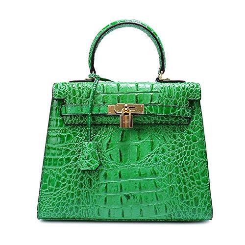 Bandoulière Femmes Sacs Vert Supérieure Cru SHELI à Dames à en Cuir Bag Crossbody Sac pour pour Sacs Main à Poignée cWn88qx4vY